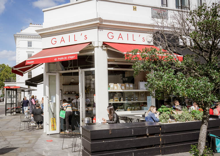 Gail's Bakery South Kensington Thurloe Street