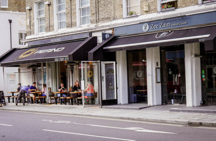 Indian Restaurants In Kensington