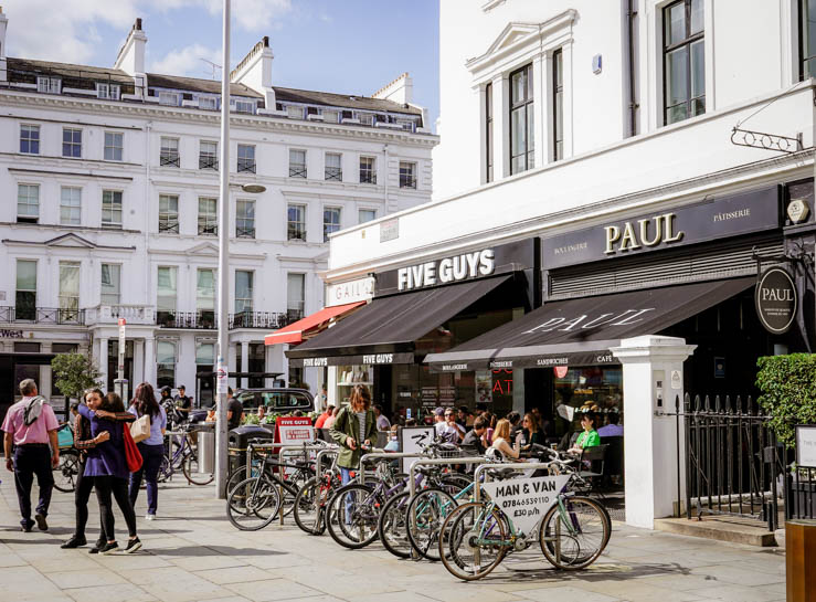 Paul and Gails Bakery on South Kensington