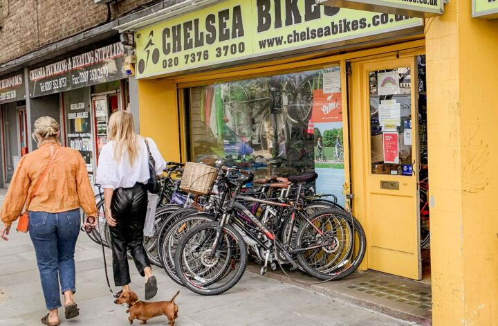 Bike Shops In Kensington