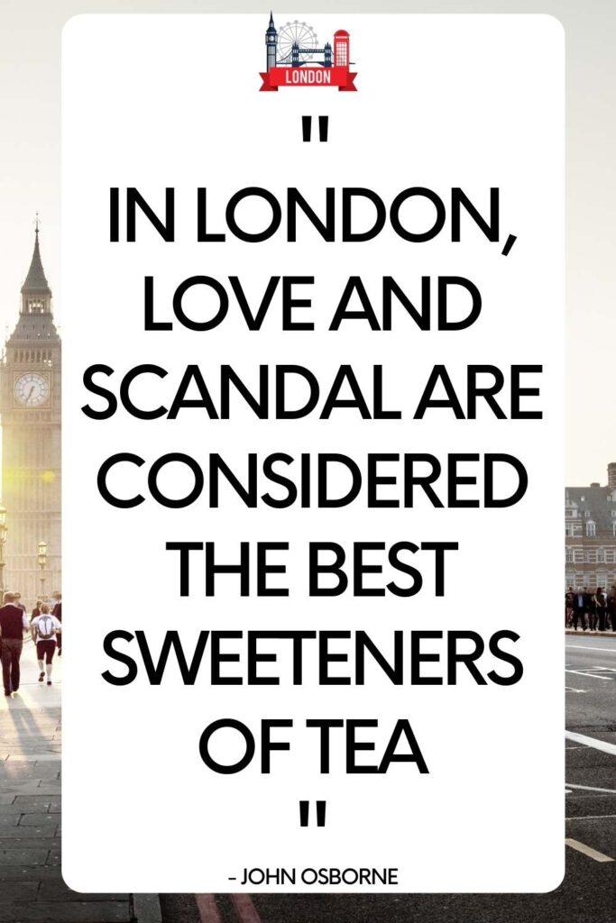 Best Captions & Quotes About London