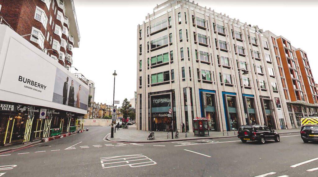 Shopping In Knightsbridge - List of shops around Knightsbridge Brompton Road