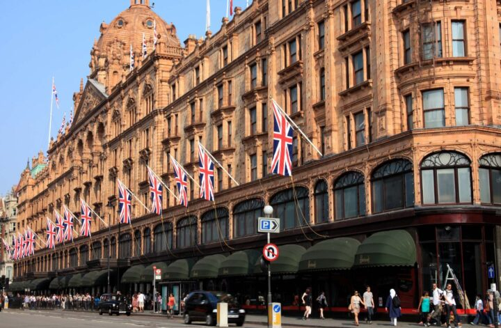 Shopping In Knightsbridge - List of shops around Knightsbridge Brompton Road