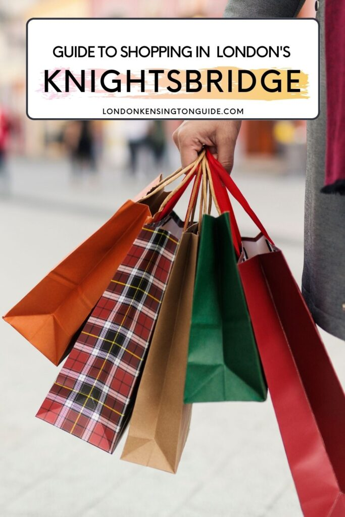 Shopping In Knightsbridge