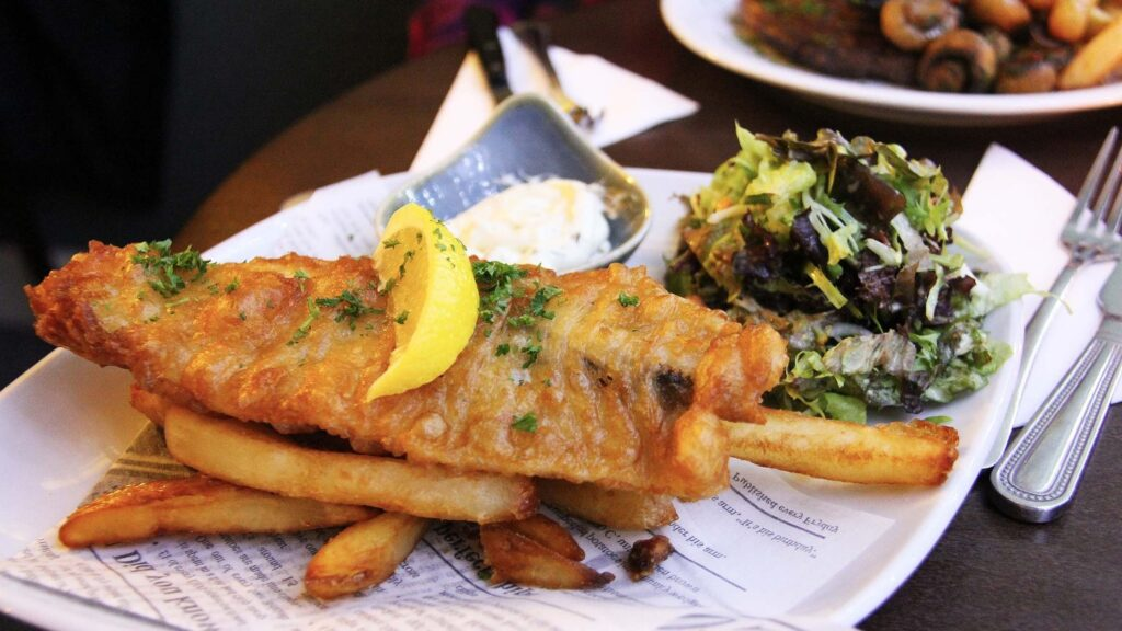 Best Fish and Chips in Notting Hill